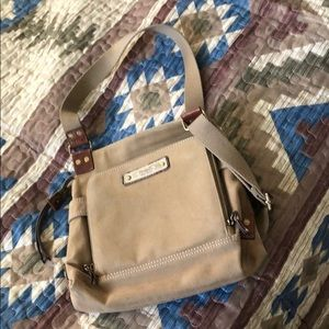 Very clean EUC Fossil canvas bag 12 x 12